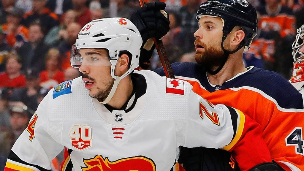 Calgary Flames' Travis Hamonic first to opt out of NHL restart
