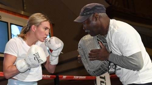 Mikaela Mayer ready to make a change in women's boxing