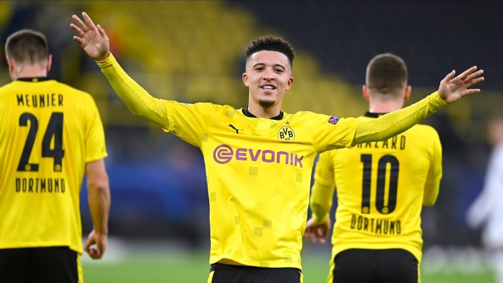 Sancho admits to 'hard' spell after United saga