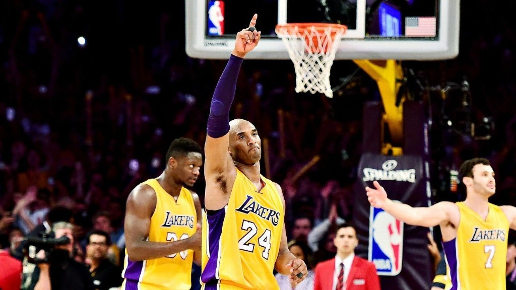 Kobe Bryant's final game: A flurry of jump shots and glory