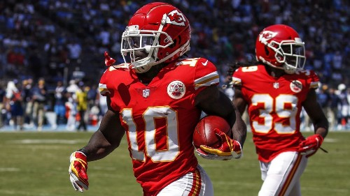 Best WR in NFL or not, Tyreek Hill is plenty good enough for Chiefs