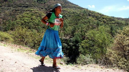 Mexico's indigenous Raramuri runners chase Olympic dreams