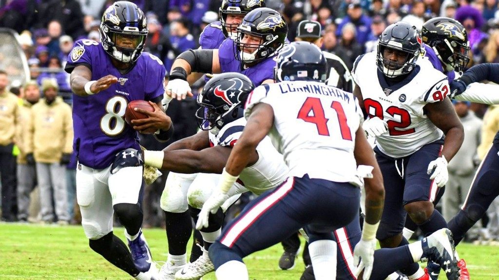 Texans aim to solve tackling issues with reigning MVP Lamar Jackson up next