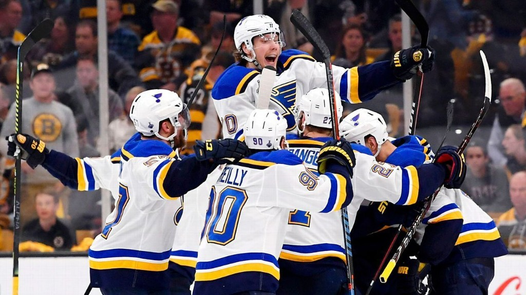 Stanley Cup Playoffs Daily: Blues cap wild Game 2 with OT win