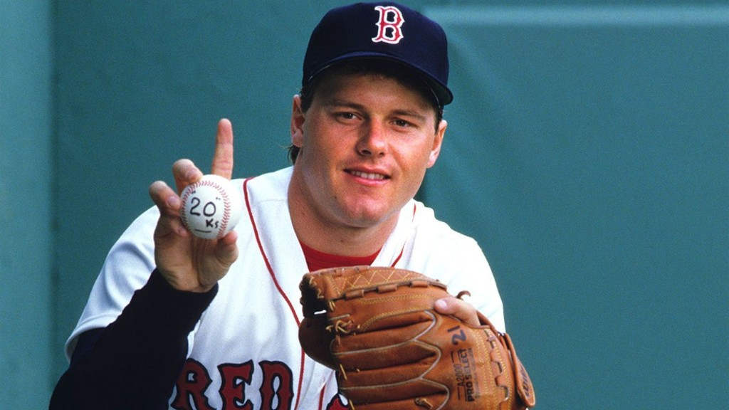 Roger Clemens was a power pitcher, from start to finish