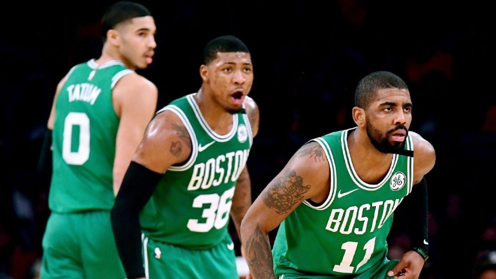 How Tatum, Kyrie and Boston will shape Anthony Davis trade talks