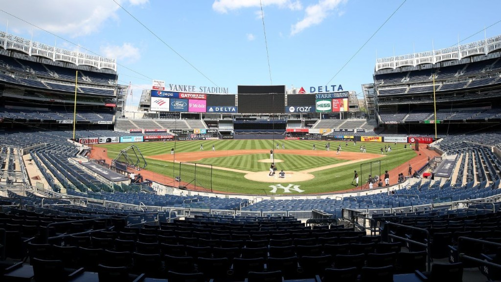 Yanks to play exhibition games vs. Mets, Phillies