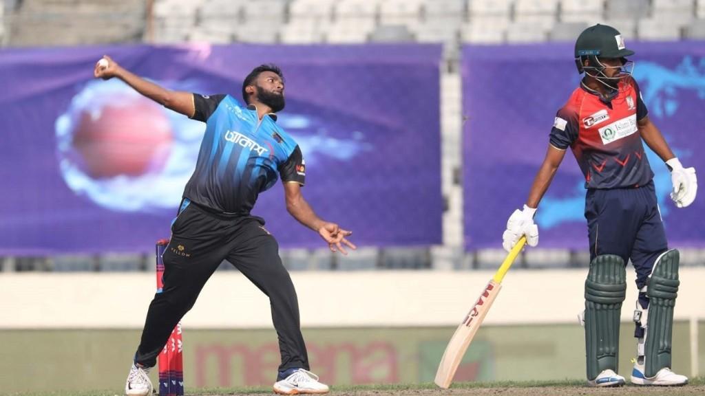 Robiul Islam Robi puts Beximco Dhaka on the board