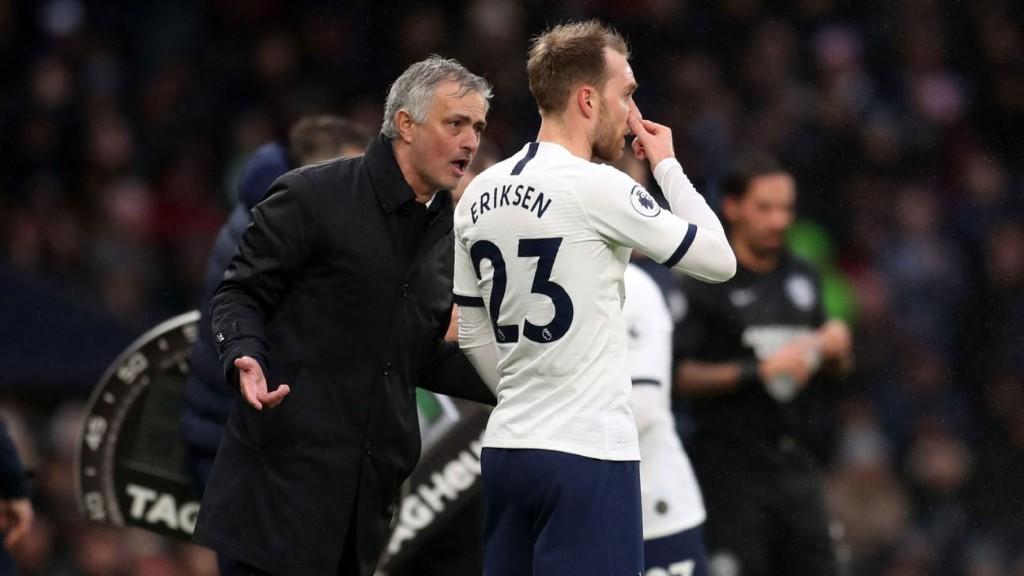 Mourinho on Eriksen saga: Don't blame Spurs