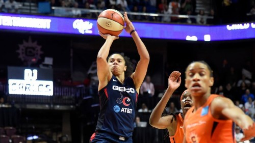 Toliver goes off for double-double in Mystics' Game 3 win - ESPN Video