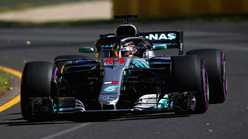 Hamilton dominant in opening Melbourne practice