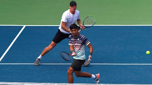 Returning from break point: How doubles did the trick for Christopher Rungkat