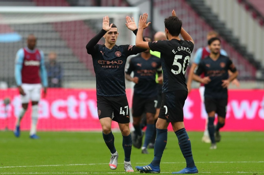 Foden strikes but Man City slip to disappointing West Ham draw