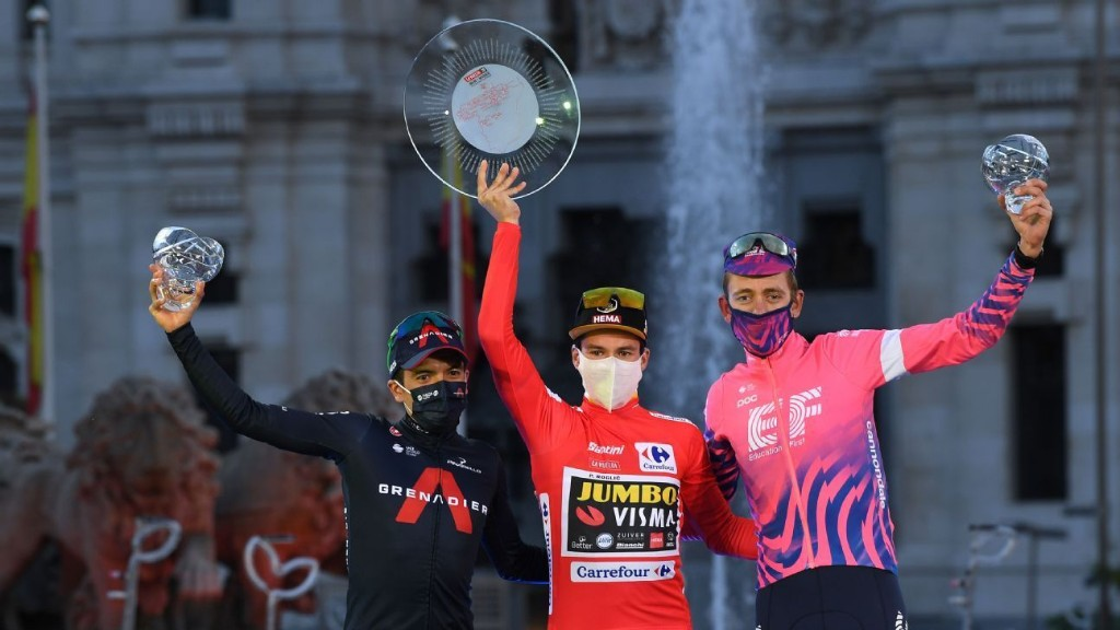 Roglic wins second successive Vuelta a Espana