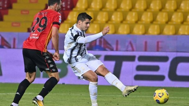 Benevento vs. Juventus - Football Match Report - November 28, 2020 - ESPN