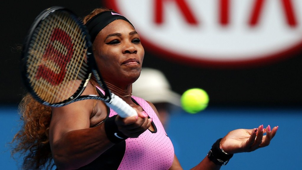 Serena playing Dubai because practice is 'boring'