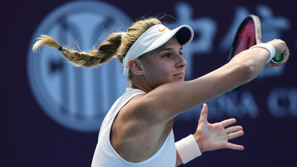 WTA's Yastremska defends blackface photos