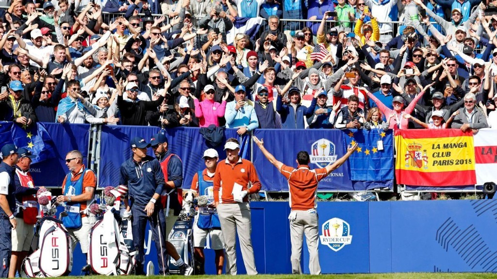 Quiet, please? Why a fan-less Ryder Cup never made any sense