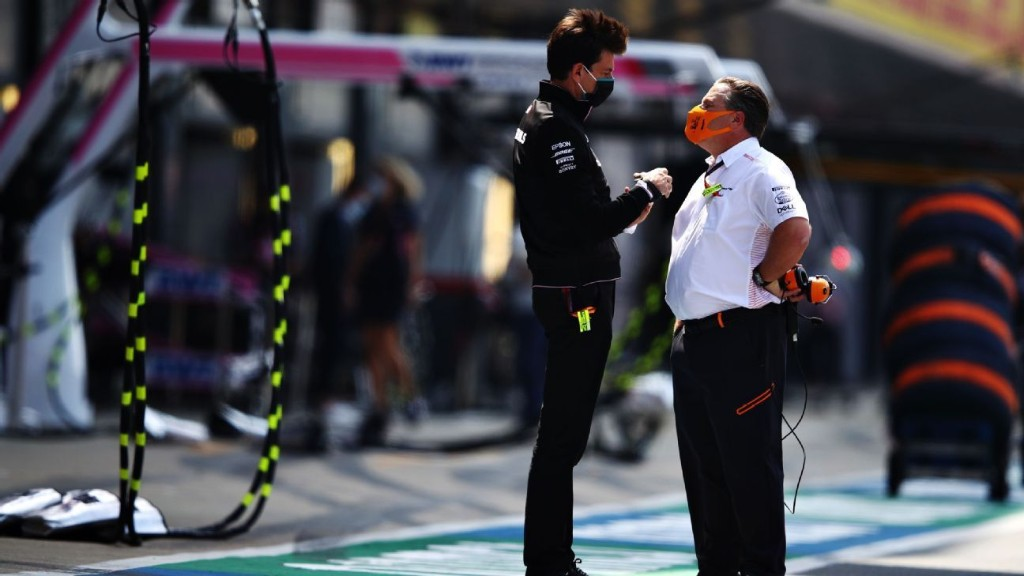 McLaren insists 'no bad blood' with Mercedes over Racing Point row