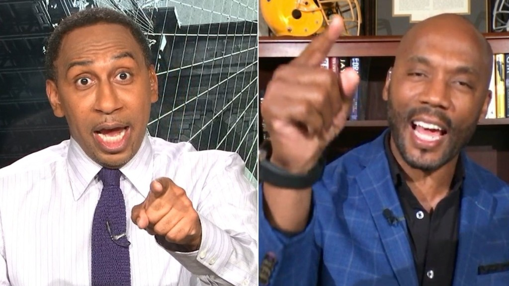 Stephen A. and Riddick go back and forth on Stidham vs. Cam - ESPN Video