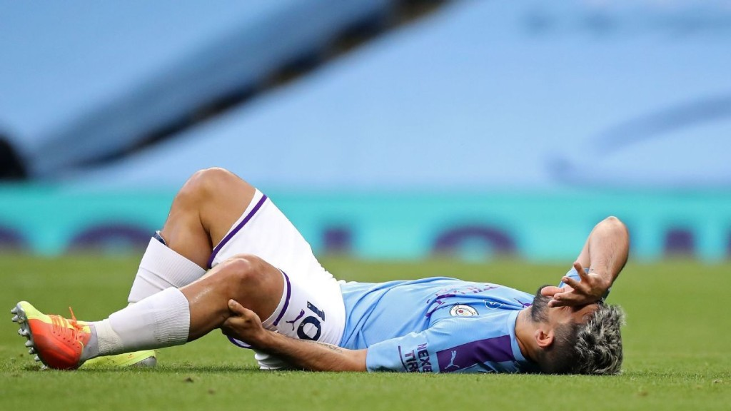 Aguero could miss two more months with injury
