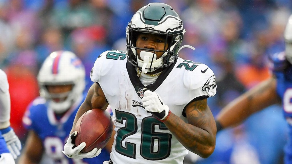 Eagles' Miles Sanders ready for expanded role in second season