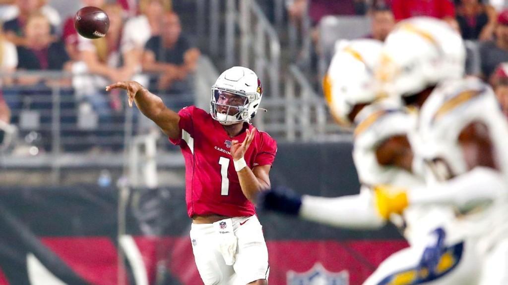 NFL rookie QB debuts: How Murray, Jones, Haskins fared
