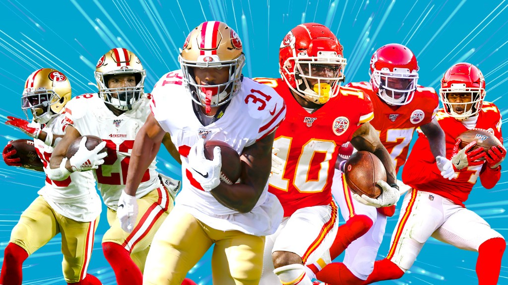 Chiefs, 49ers fill the need for speed in Super Bowl LIV