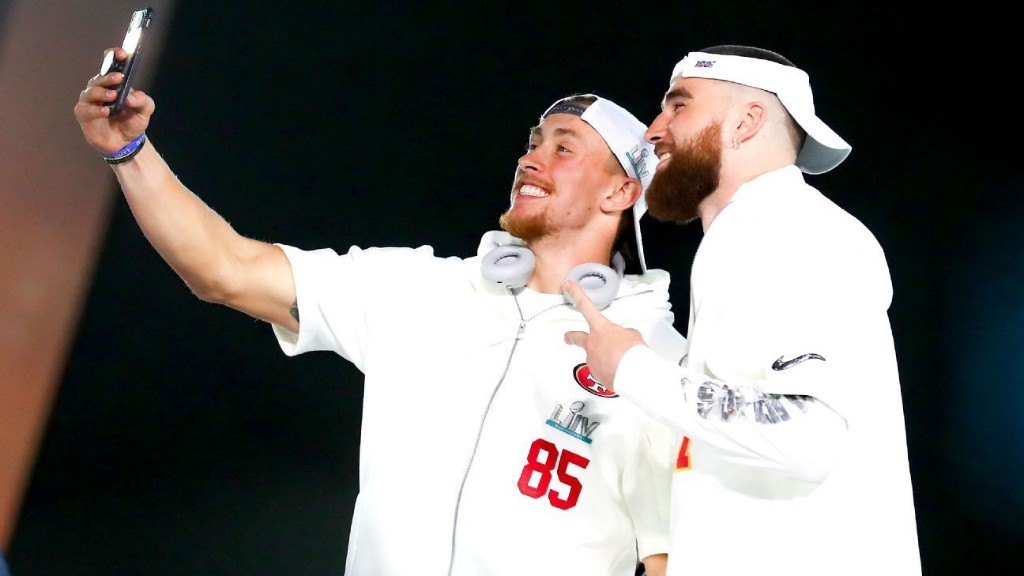 Chiefs' Travis Kelce, 49ers' George Kittle: Game respects game at Super Bowl