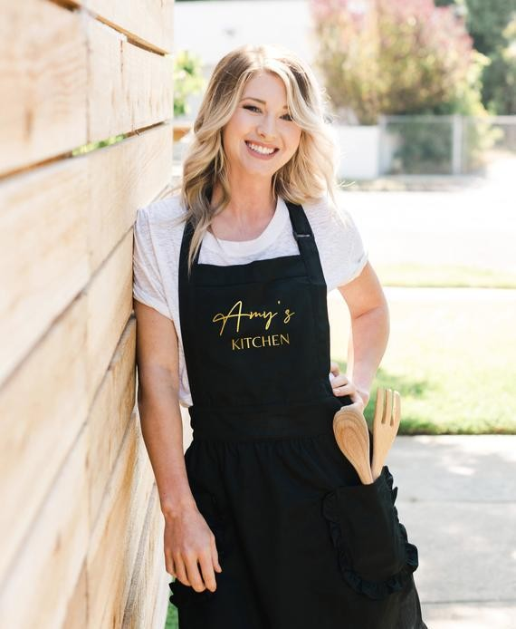 Stylish apron for those that love to cook