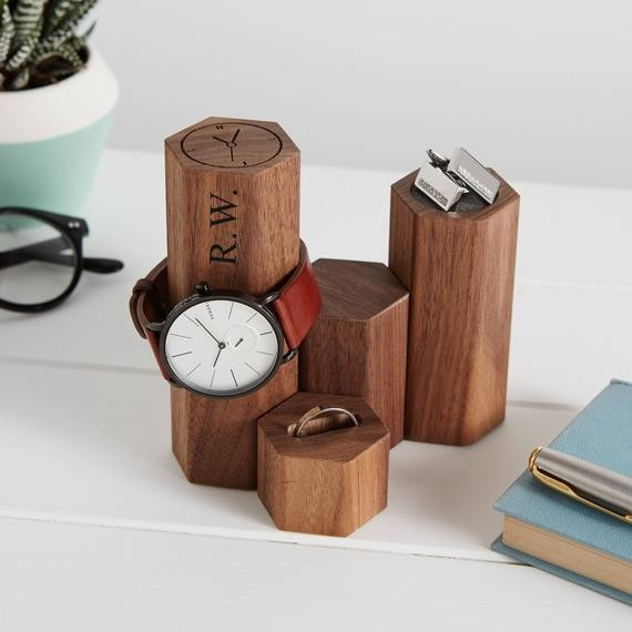 Personalized watch display stand