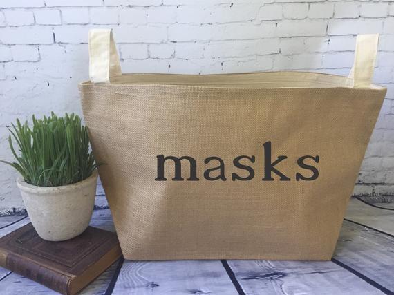 Masks Storage Basket