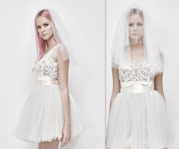 Tulle Wedding Skirt Tutu with Satin Ribbon Short tulle dress | Etsy