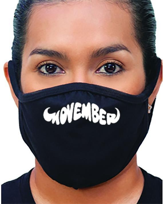 Hide your mustache with a Movember face mask