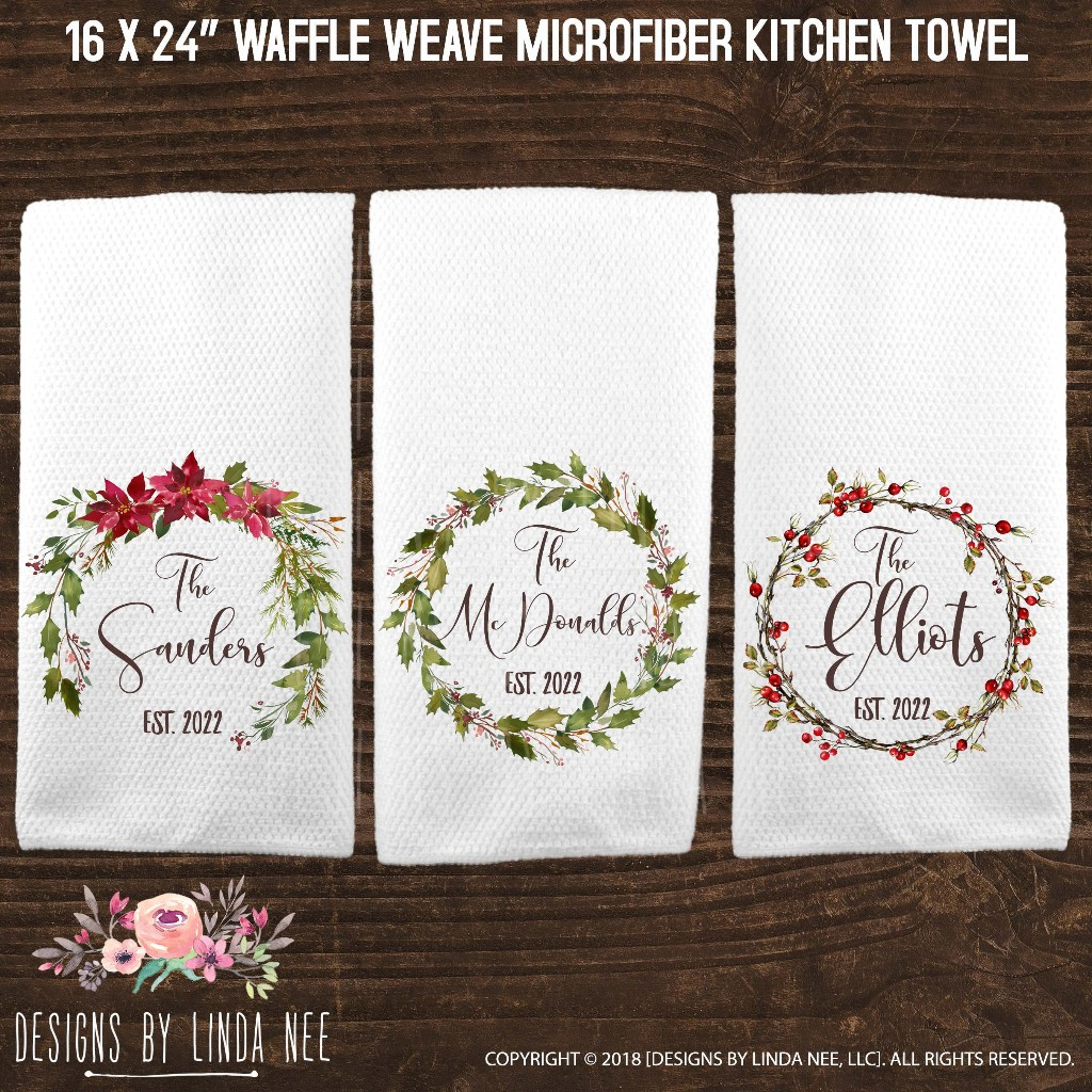Kitchen towels make a great gift