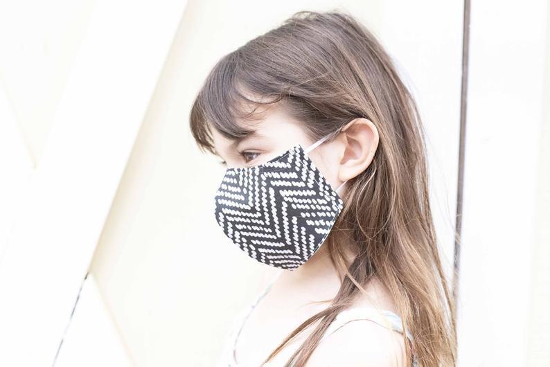 Kids Organic Cotton Masks