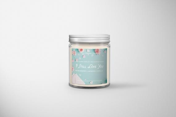 A candle to burn while you write your own love letters (To All the Boys)
