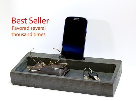 Personal Docking Station, Ipad Docking Station Wood, Charging Station Men, iphone Docking Station Wood, Charging Station iPhone Stand Holder