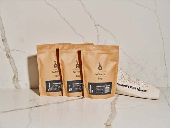 Artisan coffee gift set that's ethically sourced