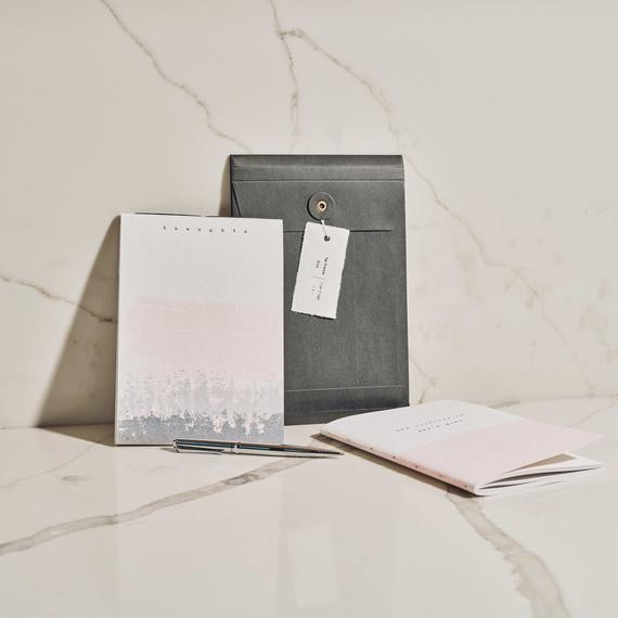 Eco-conscious notebook with a vintage feel