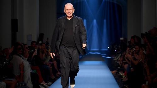 Fashion's bad boy Jean Paul Gaultier bids farewell to the catwalk