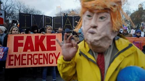 """""""Urgence"""" pour le mur: 16 Etats portent plainte contre Trump"""