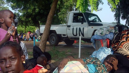 South Sudan's leaders announce ceasefire as UN calls for arms embargo on the country