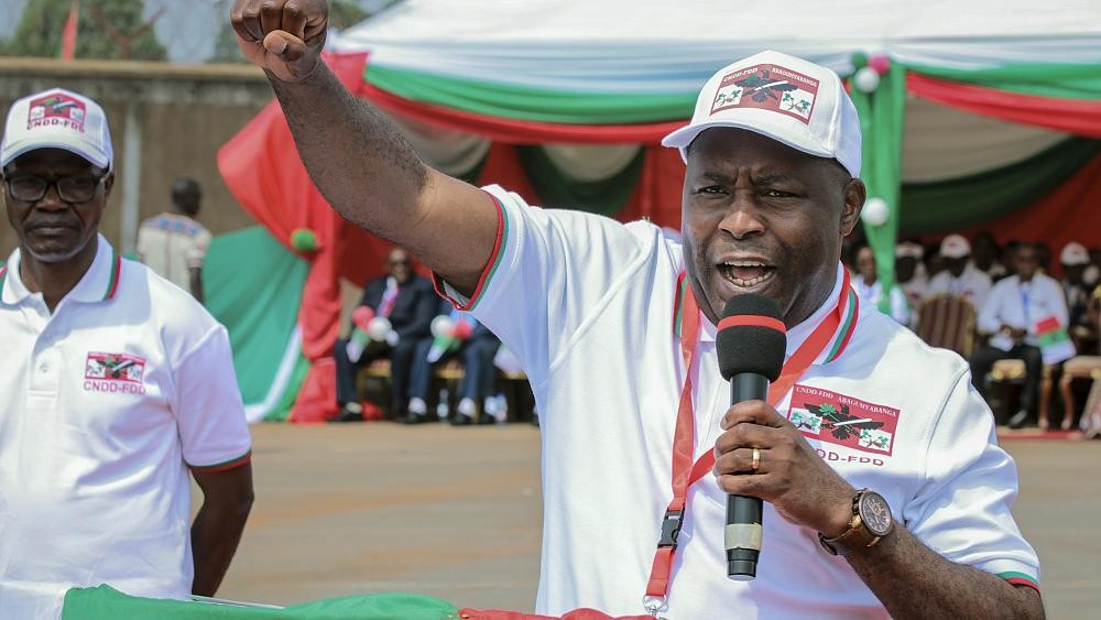 "Burundi : l'élection de Ndayishimiye, une ""mascarade"" pour l'opposition"