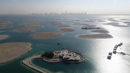 Au large de Dubaï, l'Europe reconstituée sur des îles artificielles et durables