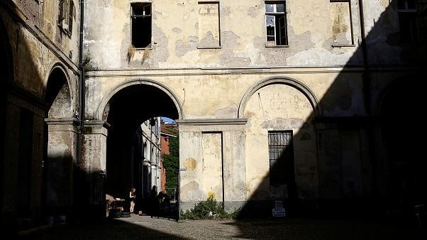 Turin firefighters handle blaze at UNESCO World Heritage Site Cavallerizza Reale