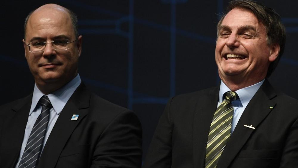 Governador do Rio acusa Bolsonaro de consumar interferência na Polícia