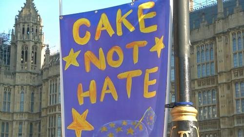 A brexit mellett és ellen a Valentin-napon