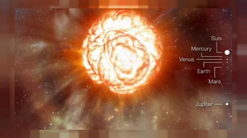 1000 Mal größer als die Sonne: Explodiert bald der Riesenstern?