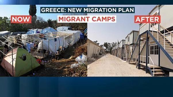 Migrants : vers des camps fermés en Grèce